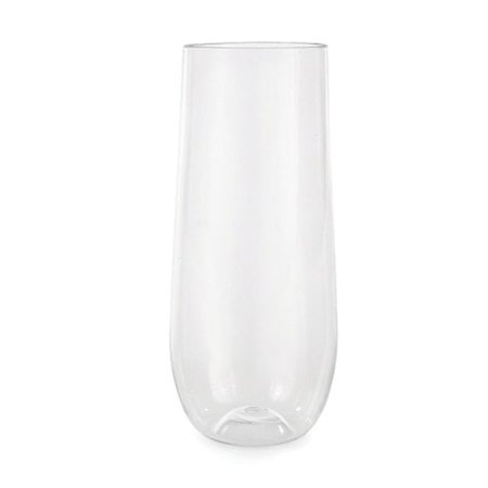 Stemless Flute Glass - Flexi Stemless Champagne Flute by True