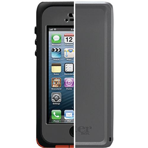 Otterbox Armor Case for iPhone 5 Black/Orange * Cover OEM...