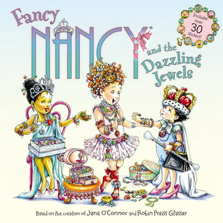Fancy Nancy and the Dazzling Jewels (Paperback) (This N That Fabric By Nancy Halvorsen)