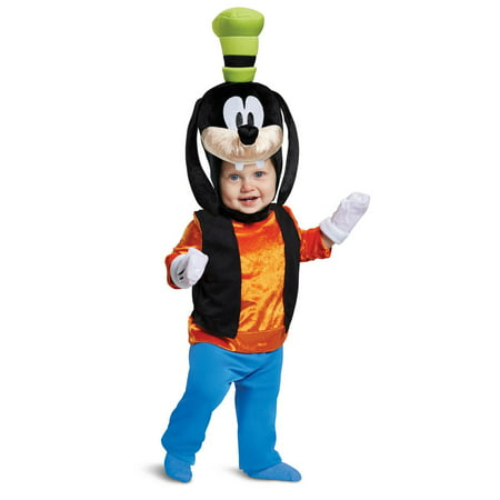 Mickey Mouse Goofy Classic Infant - Mickey Mouse Costume Rental For Adults