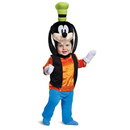 Mickey Mouse Nose Costume (Mickey Mouse Goofy Classic Infant)