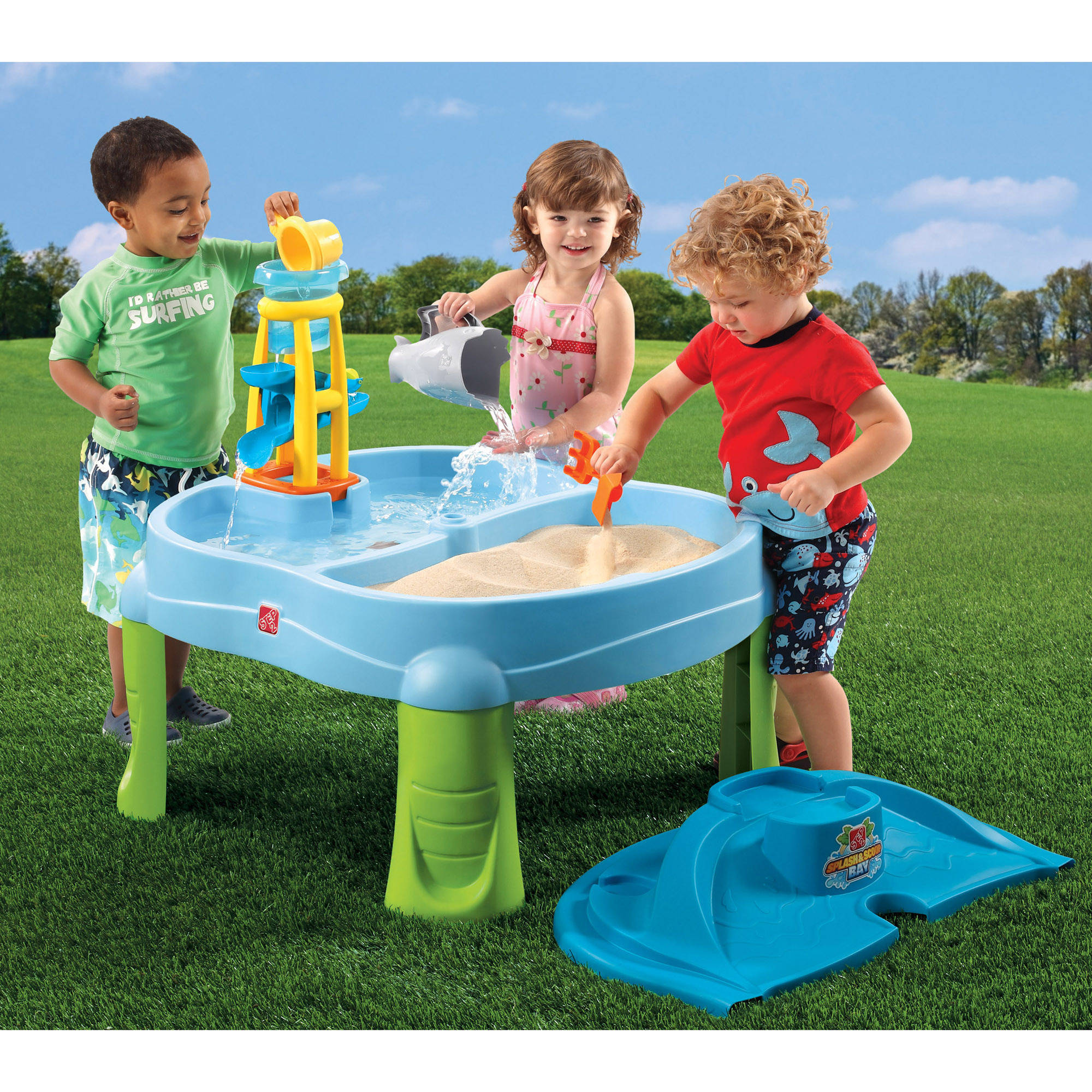 Step2 Sandbox Splash n' Scoop Bay Water Table