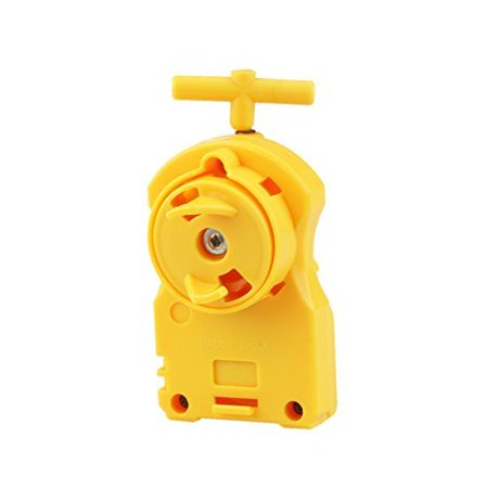 OULII Beyblade Power String Launcher Right Spin Top Spinning Toy (Yellow) ()