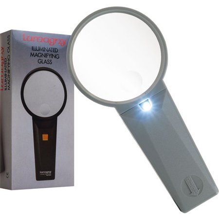 5x/2.5x Illuminated Magnifier (Lumagny: MG-07547)