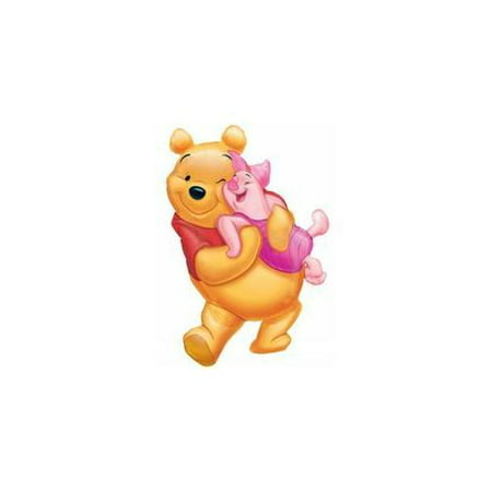 Disney Winnie The Pooh With Piglet Super Shape Foil Balloon 32