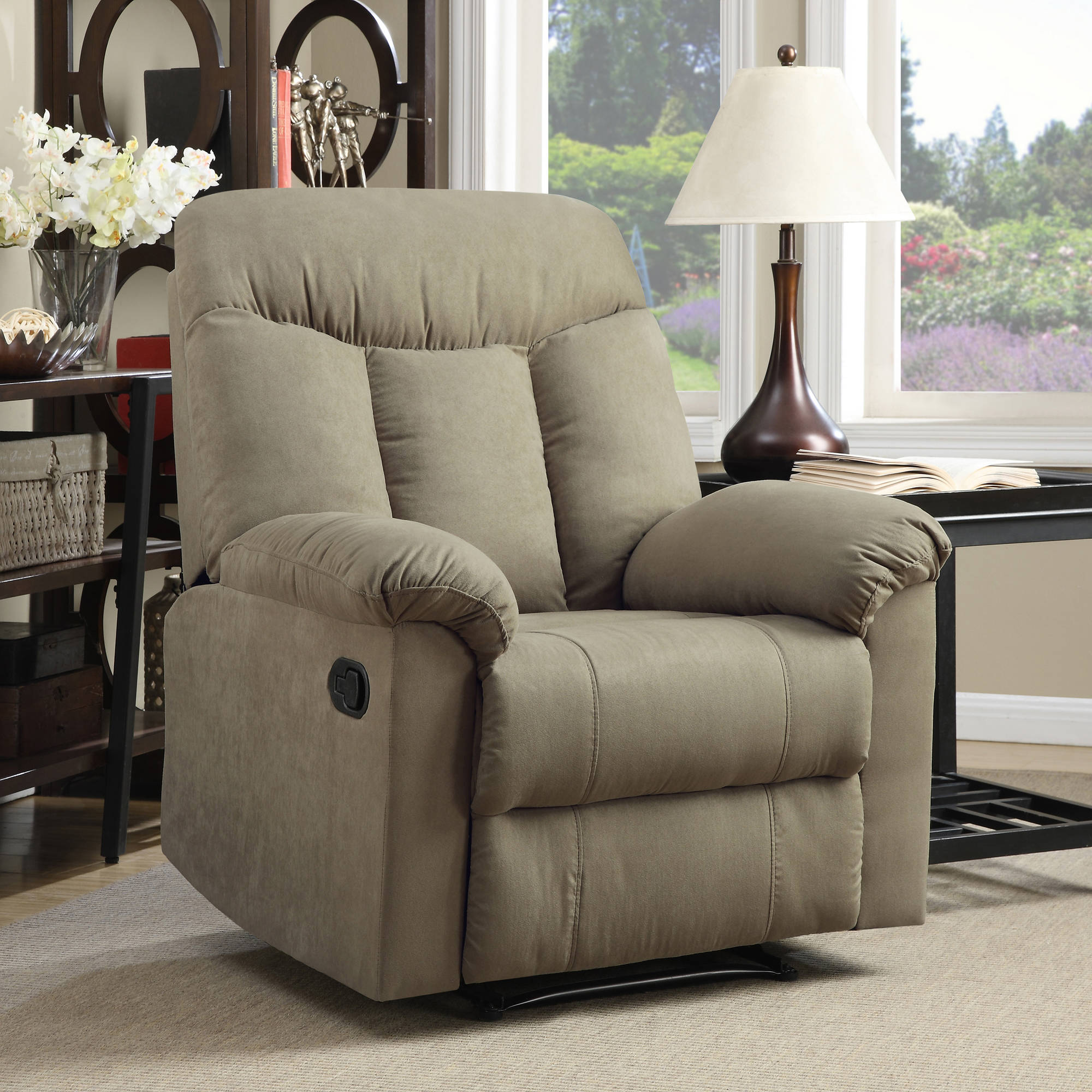 ProLounger Wall Hugger Microfiber Recliner, Multiple Colors