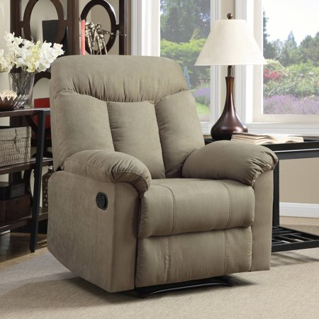 - ProLounger Wall Hugger Microfiber Montero Back Recliner Chair, Multiple Colors