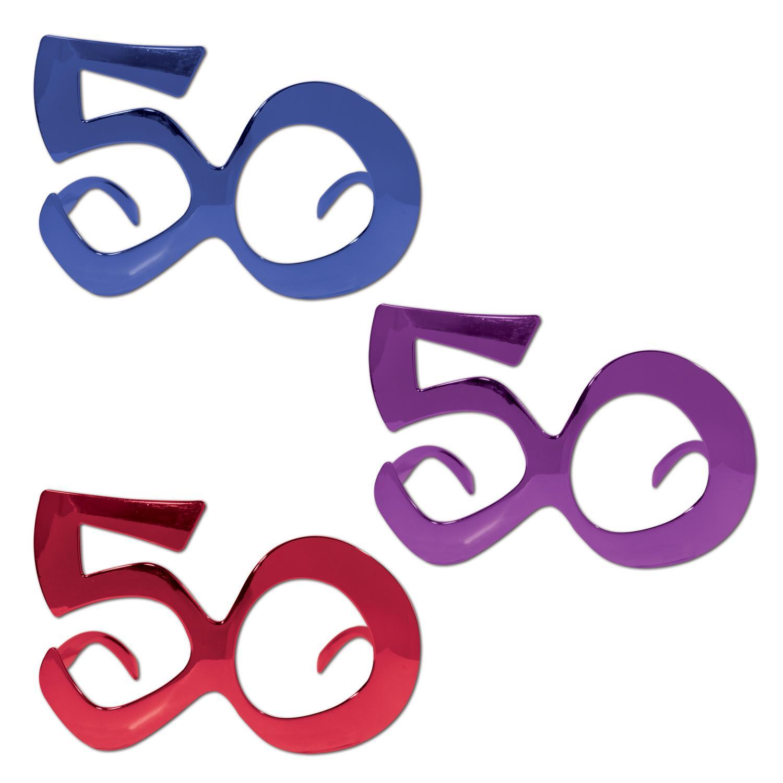 (Pack of 6) 50 Metallic Fanci-Frames