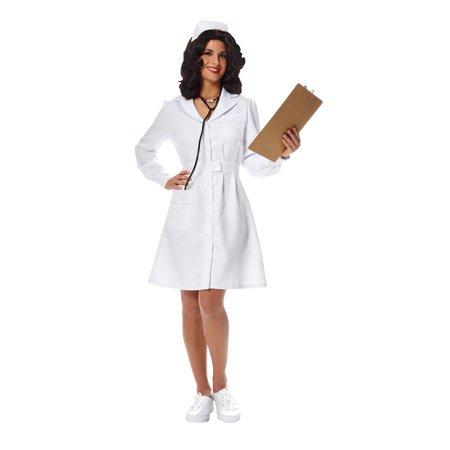 Vintage Nurse Women's Costume - Nursing Costumes