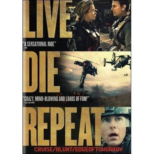 Live Die Repeat: Edge Of Tomorrow (Widescreen)