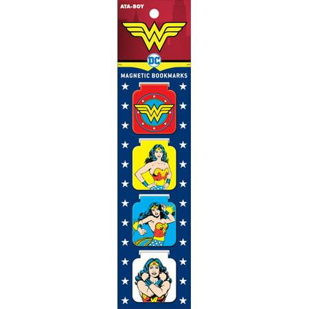 Wonder Woman Magnetic Bookmark Set