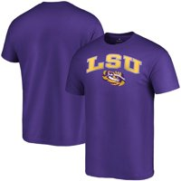 LSU Tigers Fanatics Branded Campus T-Shirt - Purple