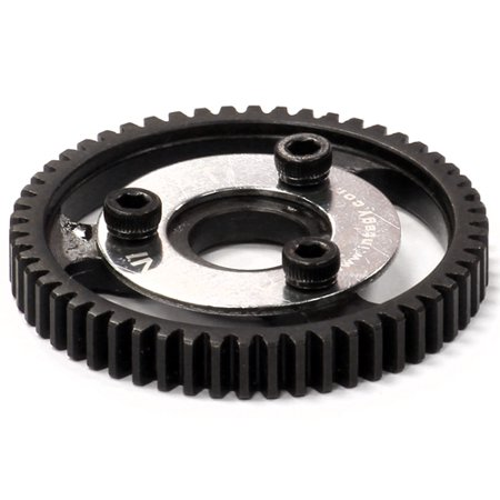 Integy RC Toy Model Hop-ups T8571 Steel 0.8 Spur Gear 54T for 1/10 Stampede 4X4 & Slash