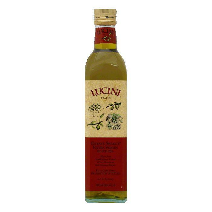 Lucini italia select extra virgin olive oil, 16.9 oz (pack of 6)