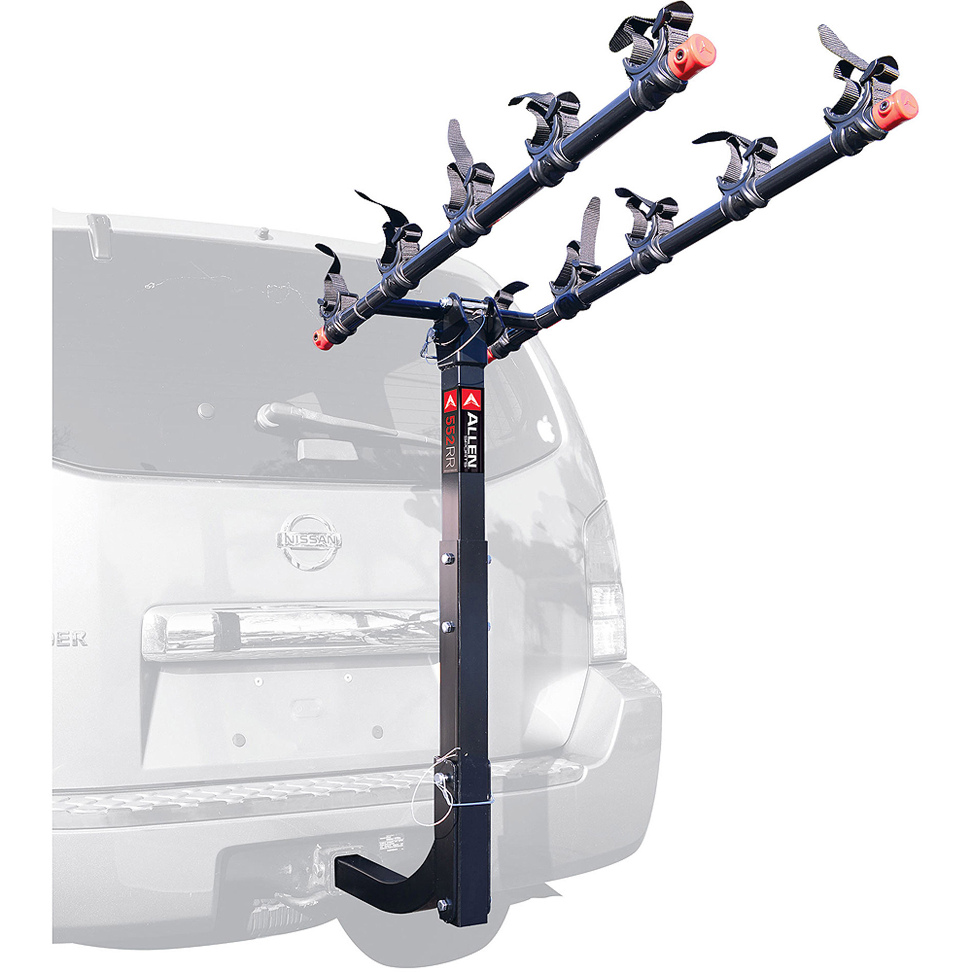 Allen Sports 552RR Deluxe 5-Bike Hitch Mounted Bike Rack