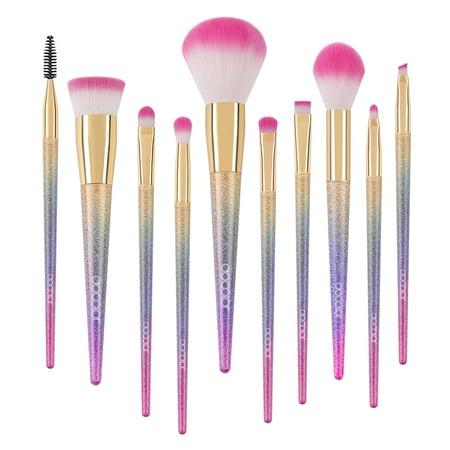 makeup brushes clearance docolor 10pcs fantasy unicorn