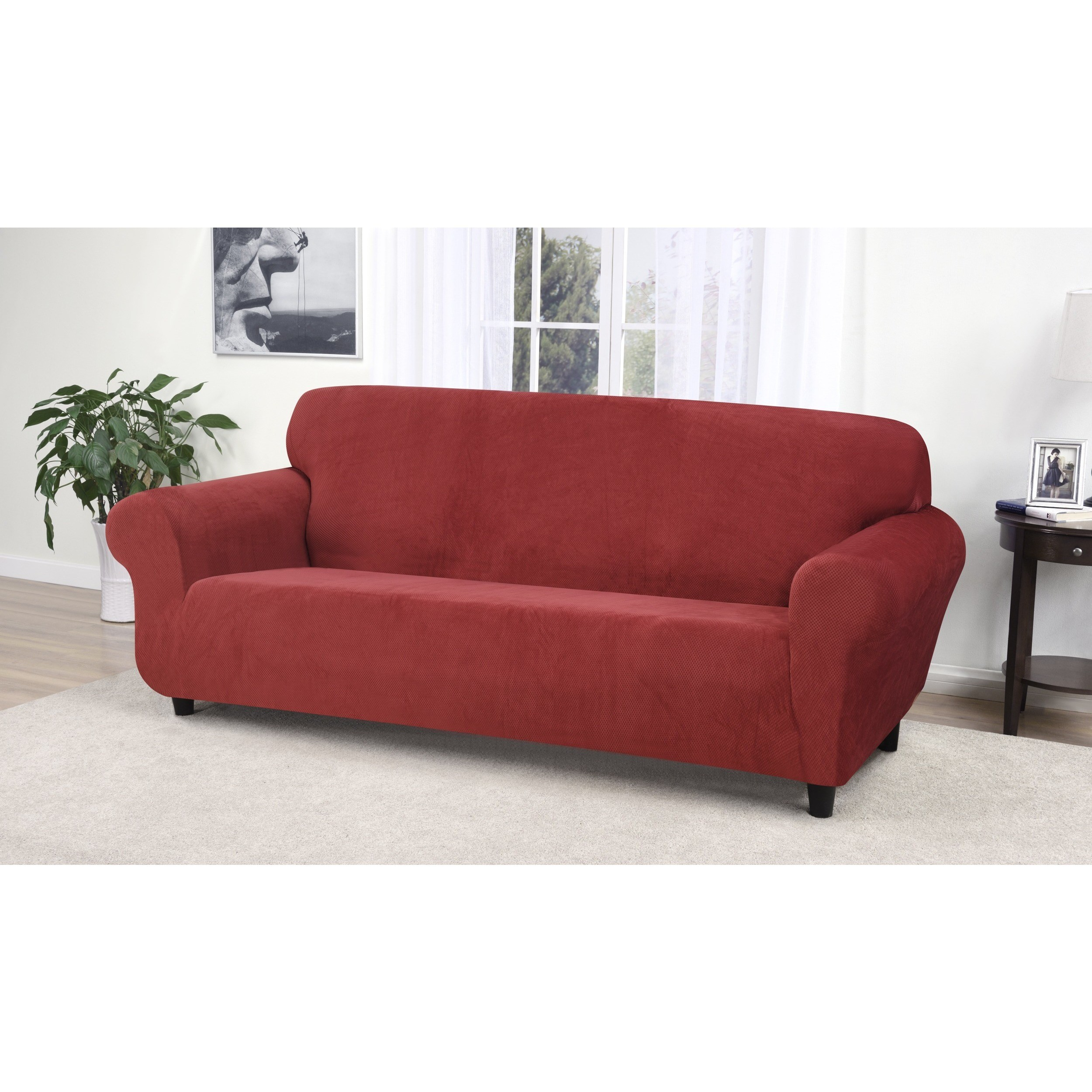 Bon Kathy Ireland Home Day Break Polyester Sofa Slipcover   Walmart.com