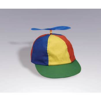 Propeller Beanie Multi-colored Hat Halloween Costume Accessory](Firefighter Halloween Hat)