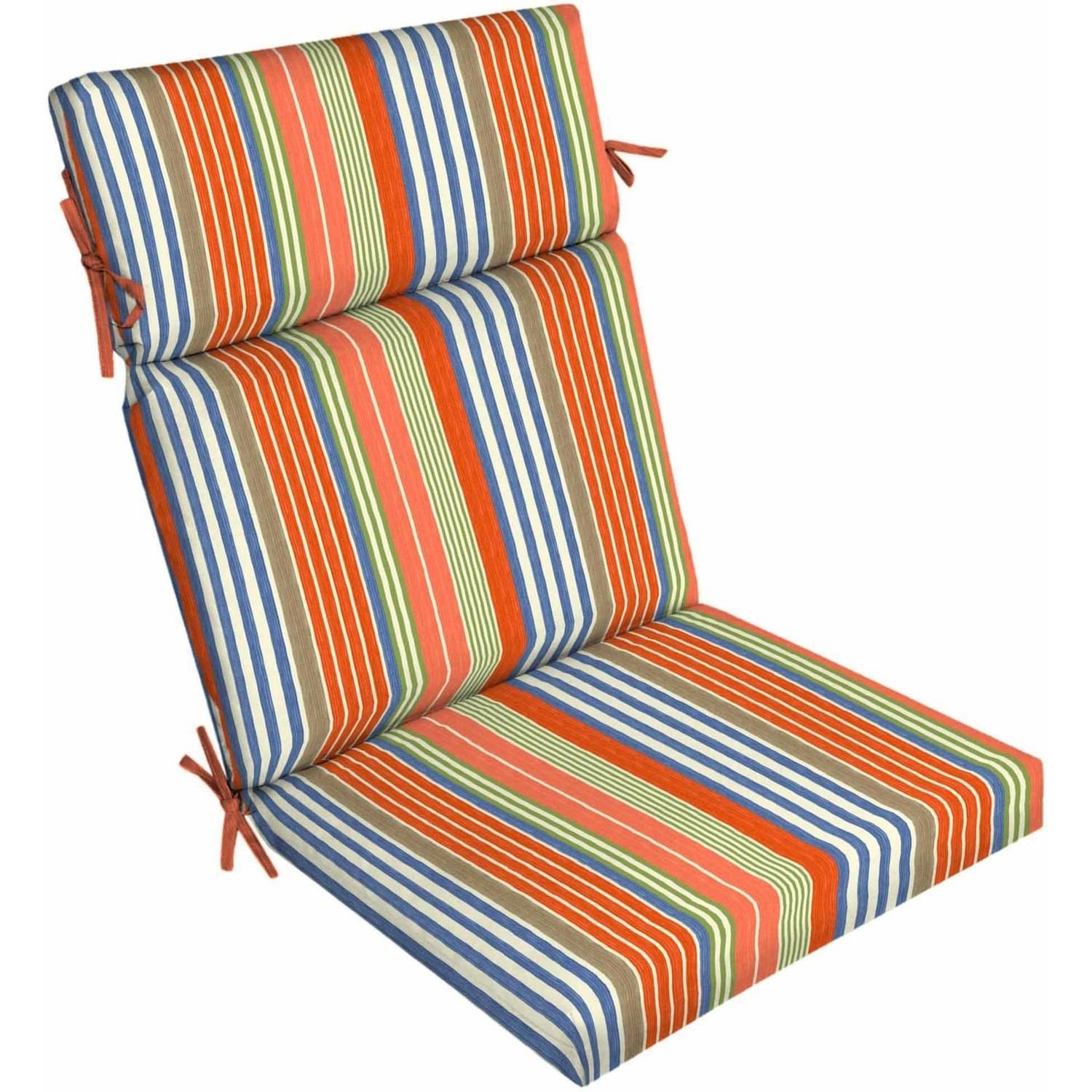 Better Homes And Gardens Outdoor Patio Dining Chair Cushion, Multiple  Patterns Available