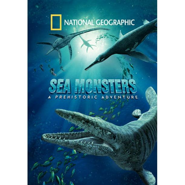 National Geographic Sea Monsters A Prehistoric Adventure Imax Dvd Walmart Com Walmart Com