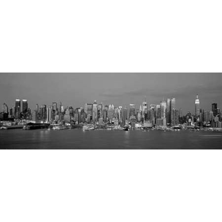 Manhattan Skyline NYC Poster Print by Richard Berenholtz