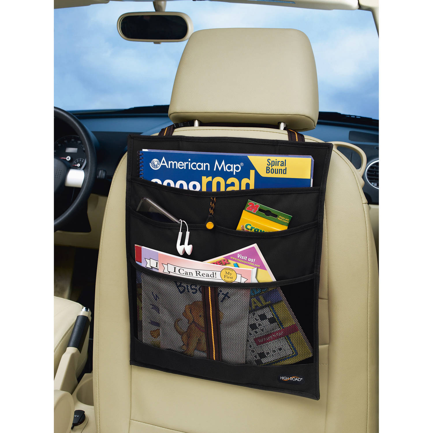 High Road Express Car Seat Back Organizer