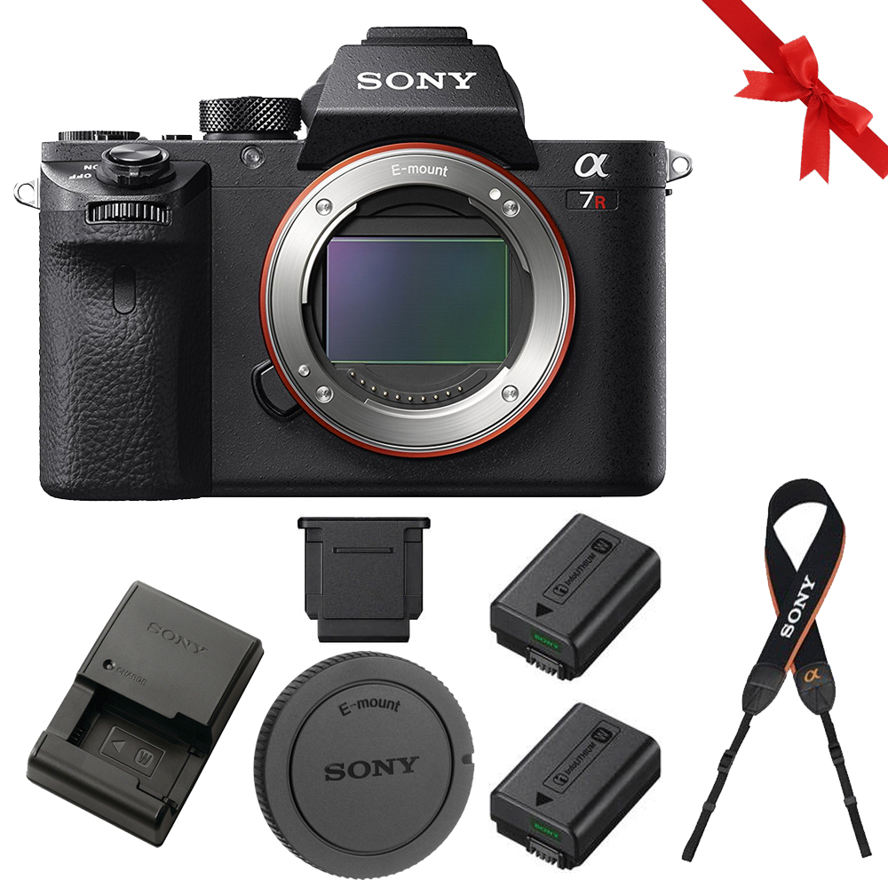 Sony Alpha a7R II Mirrorless Digital Camera + Rechargeable Battery Pixi Kit