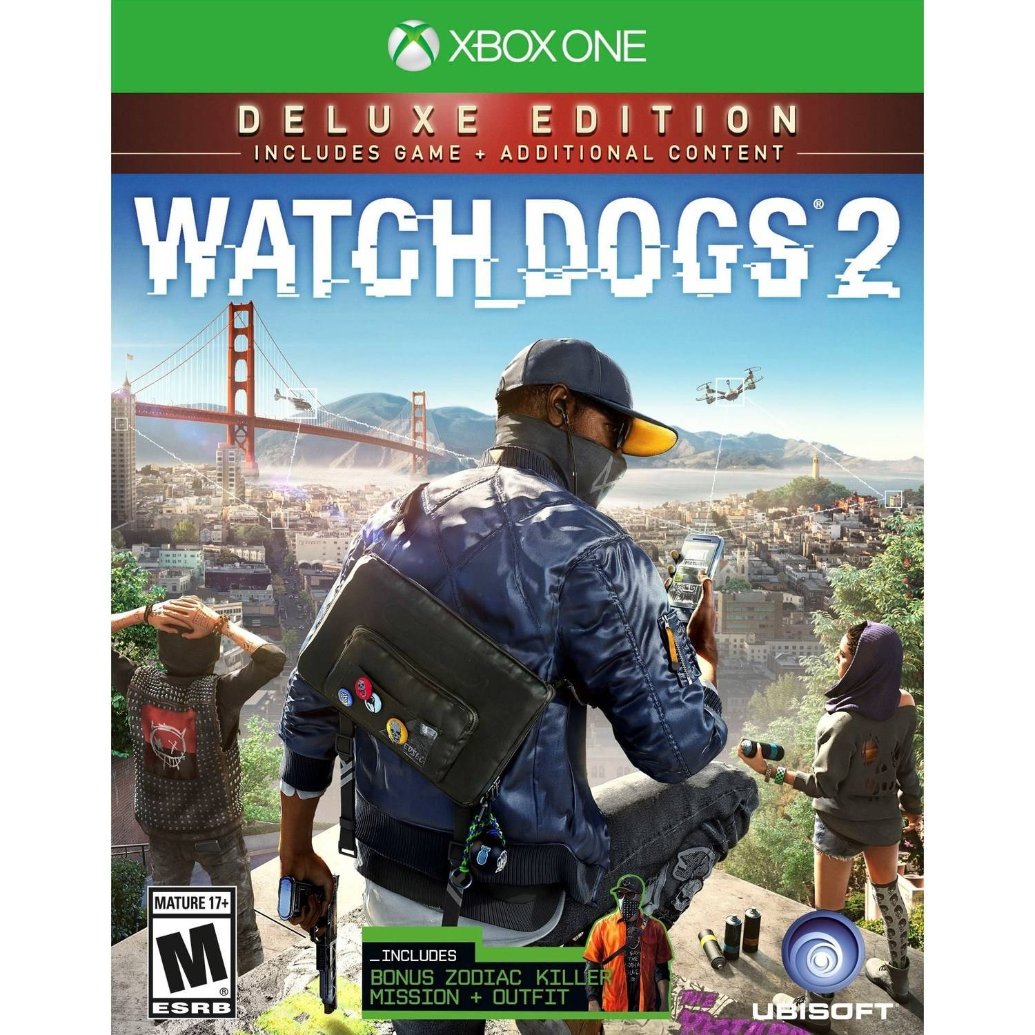 Watch Dogs 2 Deluxe Edition (Xbox One)
