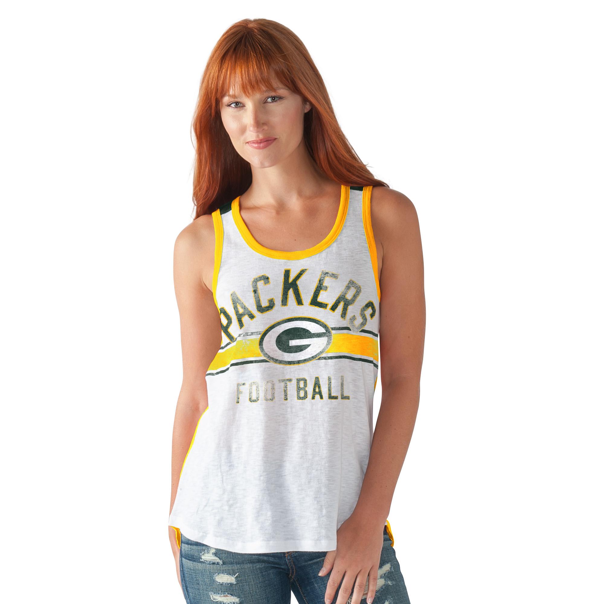 """Green Bay Packers Women's G-III NFL """"In the Stands"""" Tank Top Shirt by G-III Sports"""