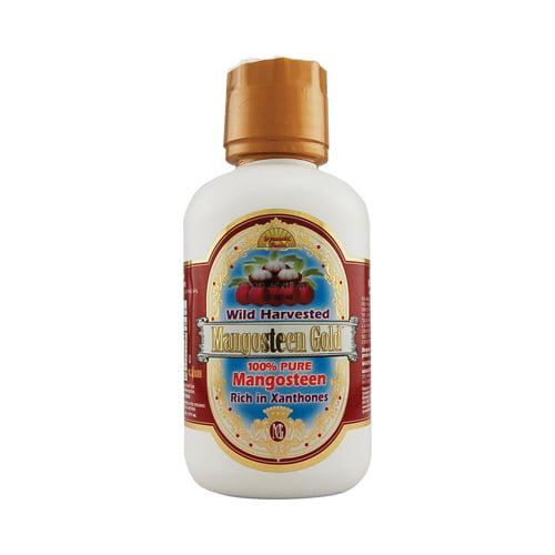Dynamic Health Laboratories, Inc. Mangosteen Gold 100% Pure Mangosteen, 16 oz