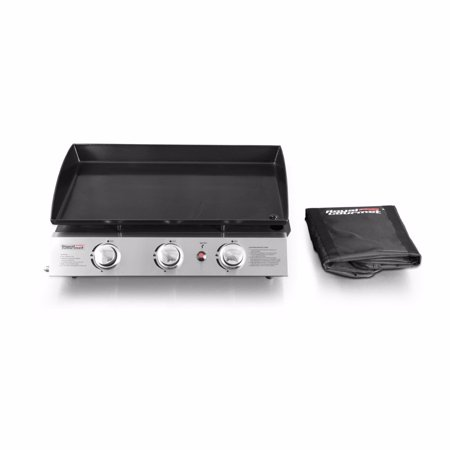 - Royal Gourmet PD1300 BBQ Propane Gas Grill Griddle 3-Burner Tabletop Barbecue Camping