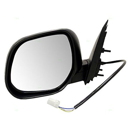 Aftermarket Side View Mirrors - Drivers Power Side View Mirror Ready-to-Paint Replacement for Mitsubishi SUV 7632A063, Brand new aftermarket replacement By AUTOANDART