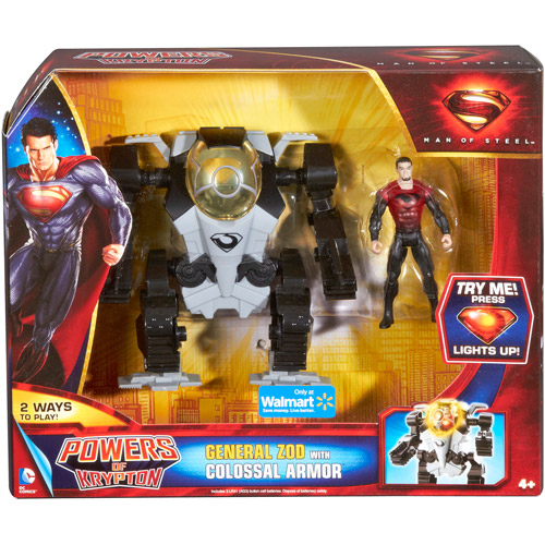 DC Comics Superman: Man of Steel Zod with Colossal Armor Action Figure