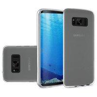 Galaxy S8 Case, Premium Crystal Clear TPU Case Shock Absorption Cover TPU Rubber Gel Back Bumper for Samsung Galaxy S8