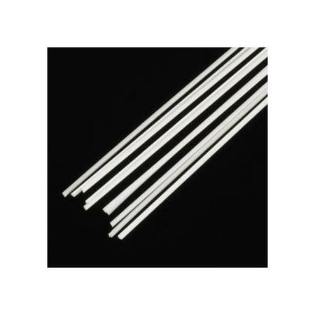 """90841 Triangle Rod .030x10"""" (10) Multi-Colored"""
