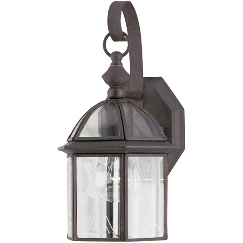 Westinghouse Lighting 6985600 Rust One-Light Exterior Wall Lantern