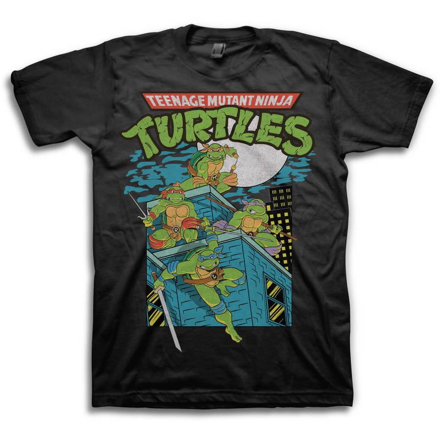 Ninja Turtles Action Big Men's Short Sleeve T-shirt