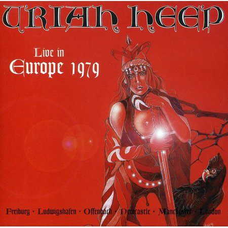 URIAH HEEP - Live in Europe 1979 (CD)