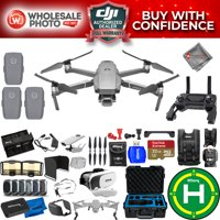 DJI Mavic 2 Pro 3 Battery MEGA Accessory Kit with Waterproof Case, 32GB Micro SD Card, Drone Vest, Landing Pad, Filter Kit + MUCH MORE