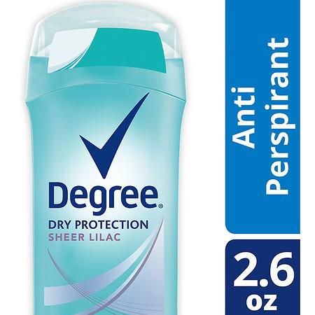 Degree Women Antiperspirant Deodorant Stick Sheer Lilac 2.6 oz.(pack of 1)