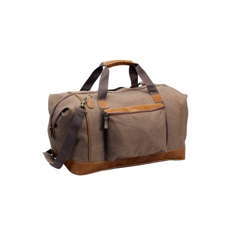 Monogram Online Steamboat Canvas Duffle Bag, Brown