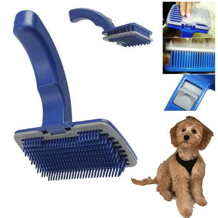 Terrier Grooming Tools (Pet Dog Cat Grooming Self Cleaning Slicker Brush Comb Shedding Tool Hair)