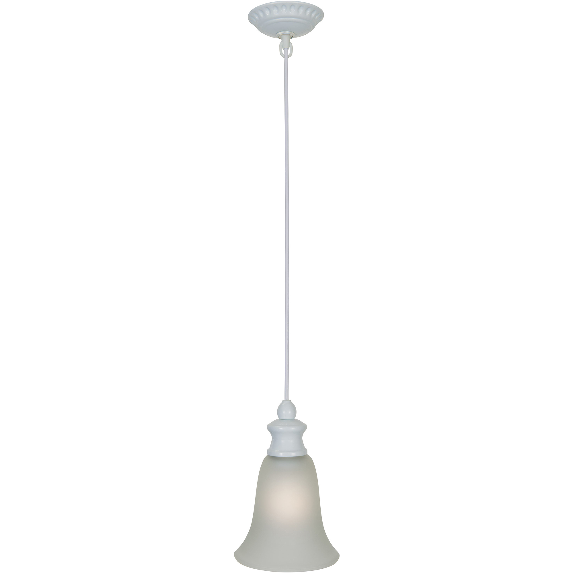 Better Homes and Gardens Pendant Indoor Ceiling Light, White by Hampton Products