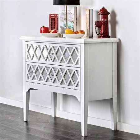 Furniture of America Amelia Contemporary Wood Accent Chest in White - image 2 of 3
