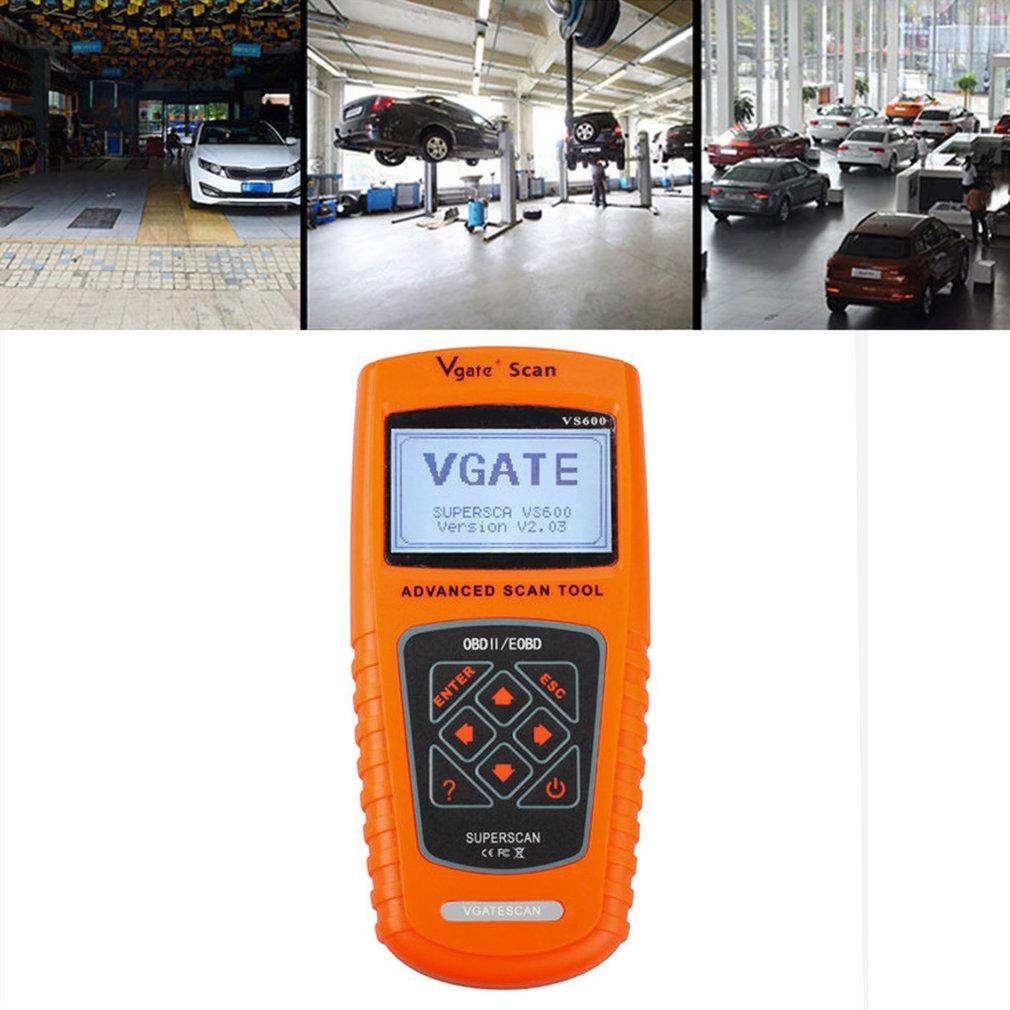 VGATE VS600 OBD2 OBDII Scanner Advanced Car Code Reader Diagnostic Scan Tool
