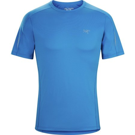 Mens Motus Crew Ss   Rigel   Xl  Phasic Fl Fabric Provides A Soft Touch  Excellent Stretch And Moisture Management By Arcteryx