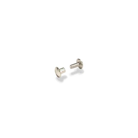 "Screw Post 1/2"" (1.3 cm) Nickel Plated Steel 10/pk 1293-02, Tandy Leather Screw Post 1/2"" (1.3 cm) Nickel Plated Steel 10/pk 1293-02 By Tandy Leather"