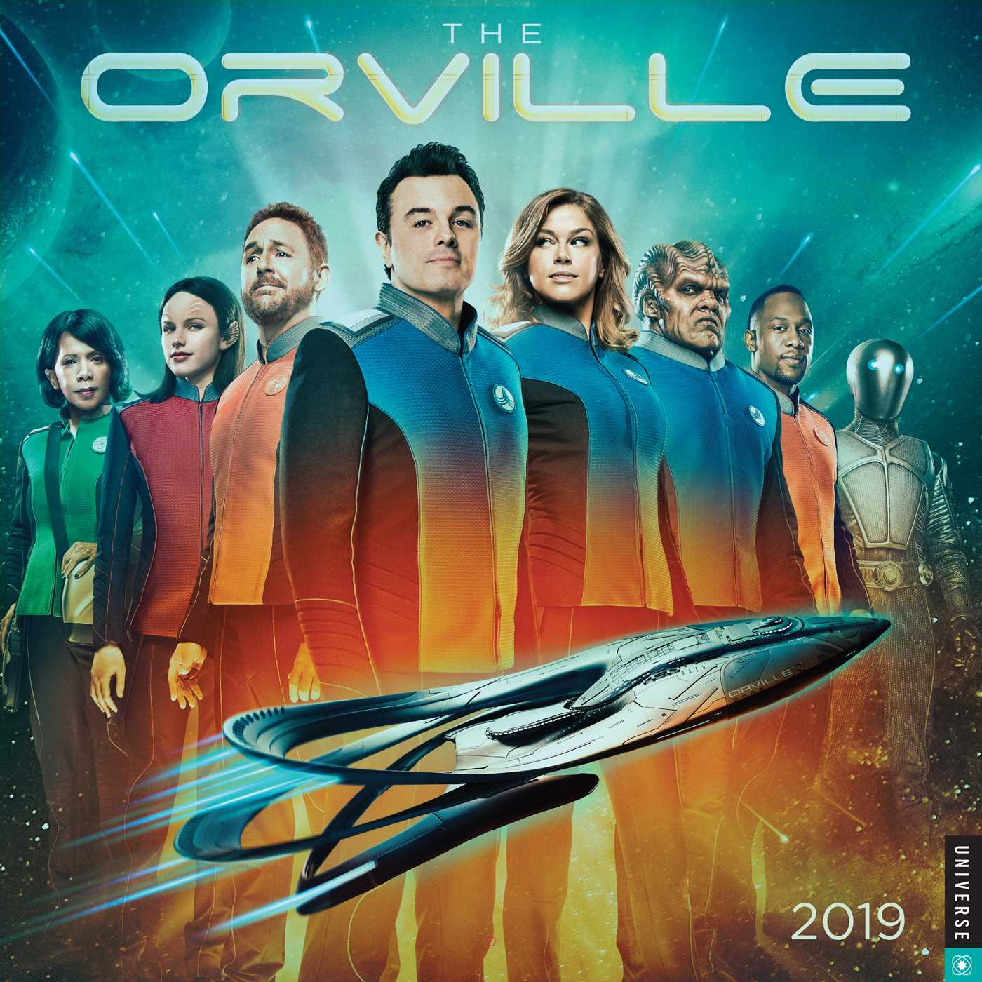 The Orville 2019 Wall Calendar (Other)