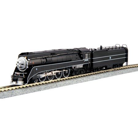 Kato 126-0312 N BNSF Excursion 4-8-4 GS-4 Black