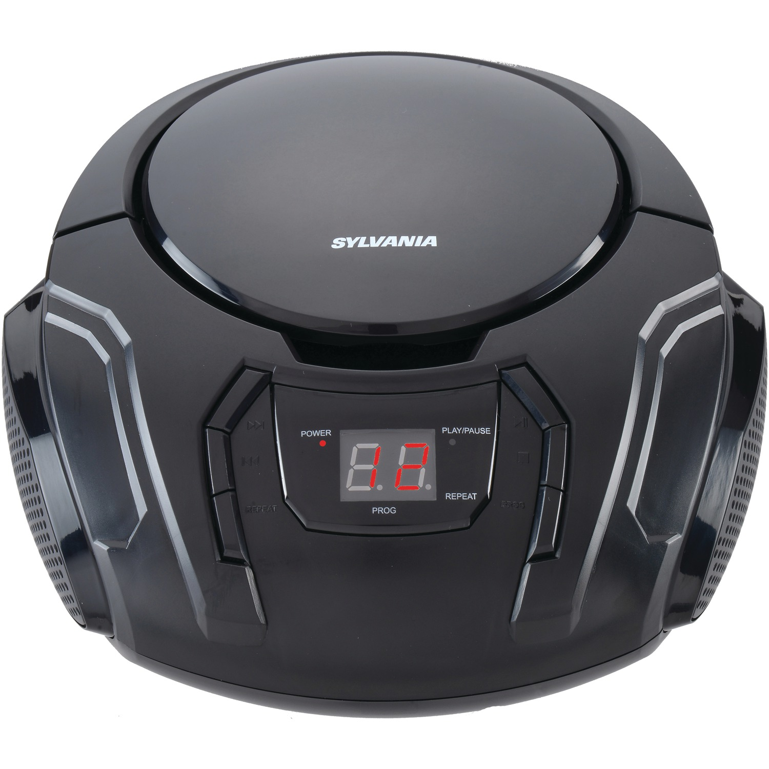 SYLVANIA SRCD261 Portable CD Player with AM/FM Radio (Black)